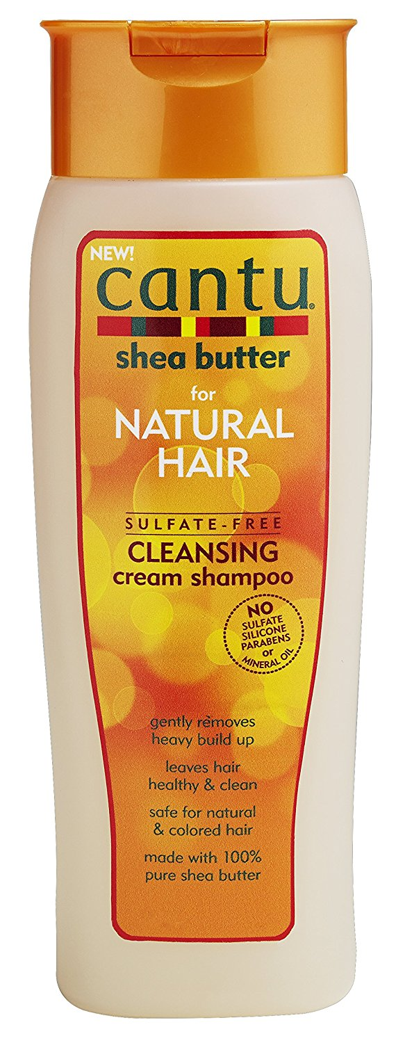 Cantu Natural Hair Sulphate-Free Cleansing Cream Shampoo 400ml