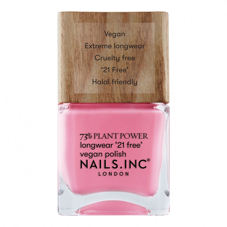 Nails Inc Plant Power Vegan Nail Polish Detox On Repeat