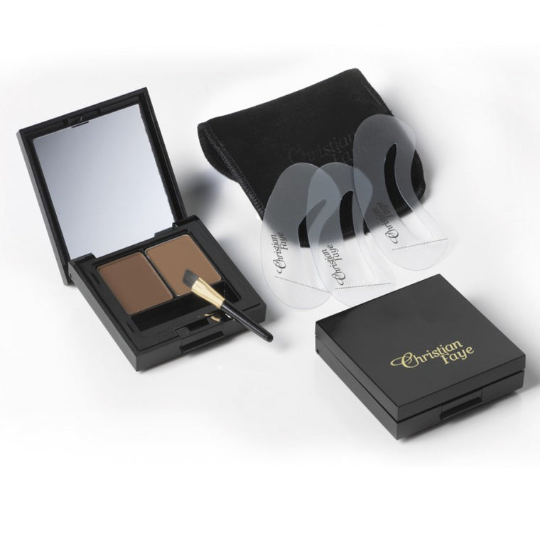 Christian Faye Eyebrow Duo Kit
