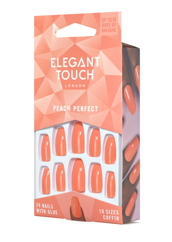 Elegant Touch Core Polished Nails - Peach Perfect