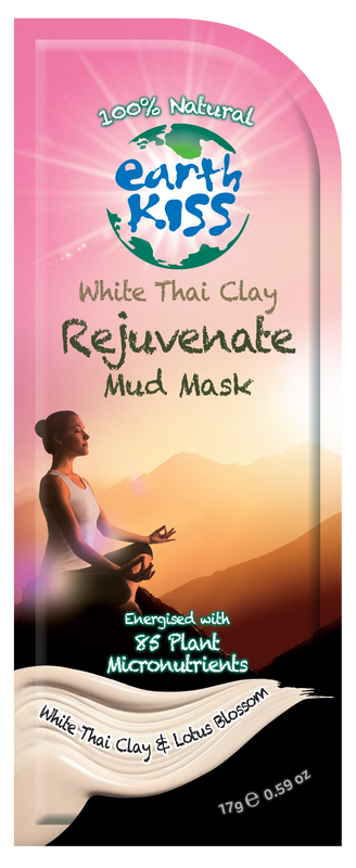 Earth Kiss White Thai Clay Skin Radiance and Rejuvenate Mud Mask