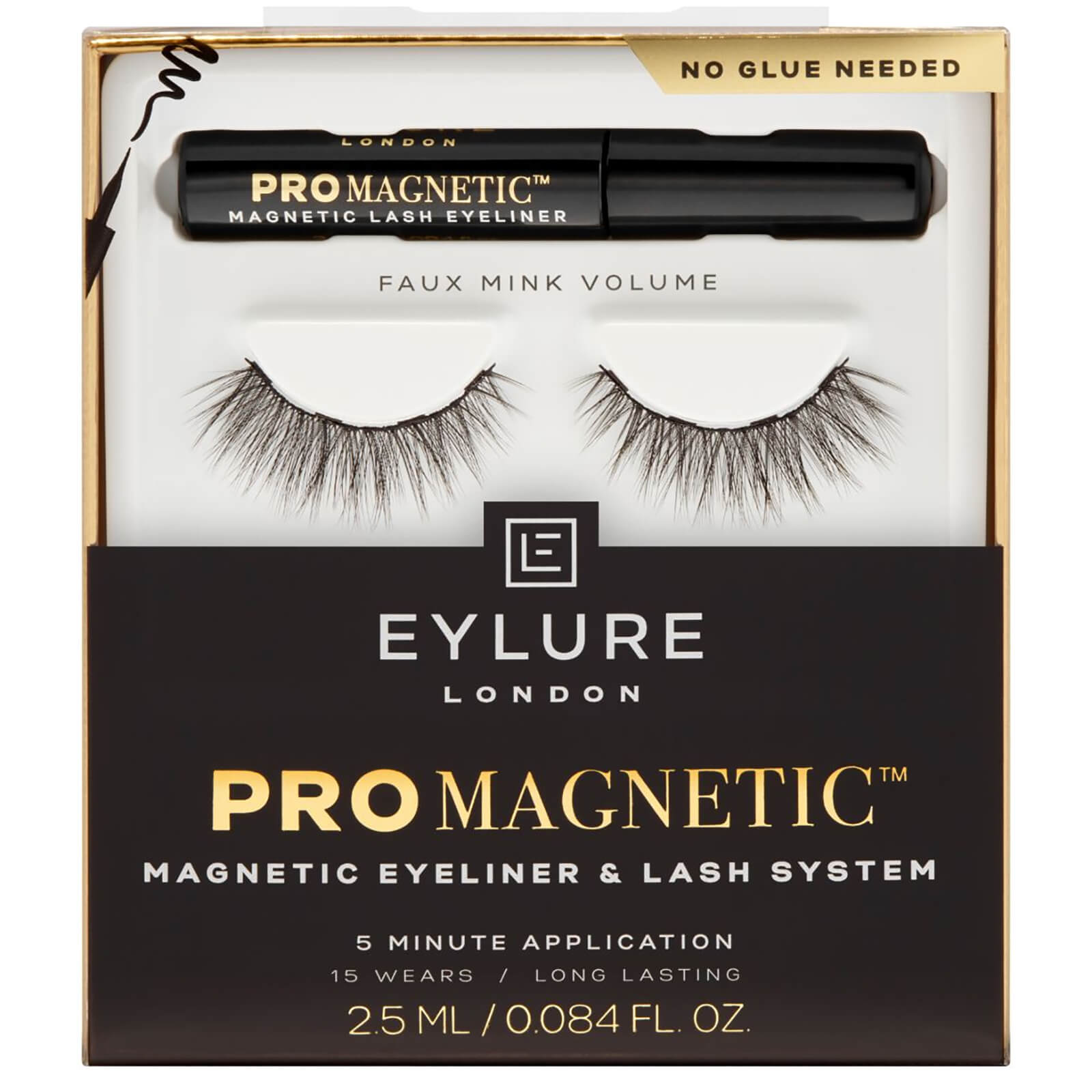 Eylure Pro Magnetic Kit Magnetic Eyeliner and Lash System 2.5ml