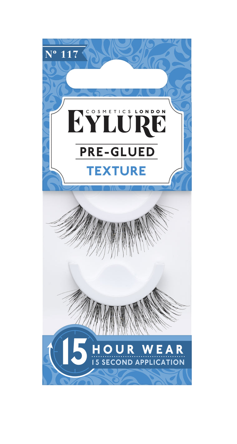 Eylure Texture Pre-Glued Lashes No 117