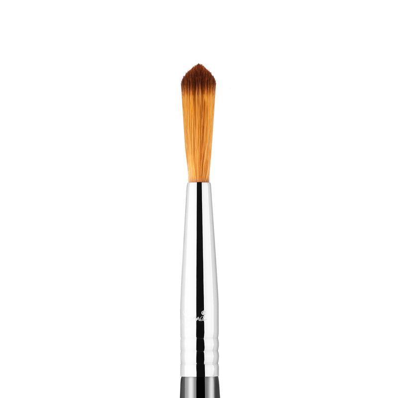 Sigma Beauty F71 Detail Concealer Brush - Black and Chrome