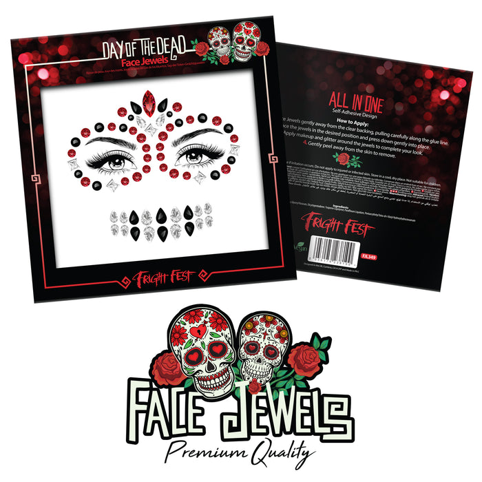 PaintGlow Halloween Face Jewels