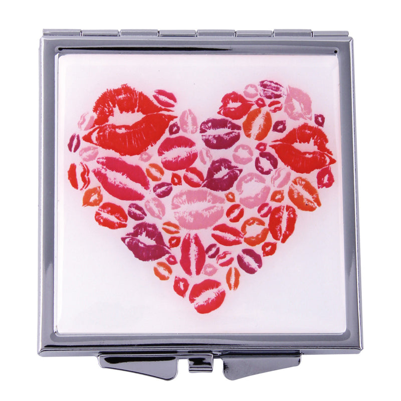 Fancy Metal Goods Heart Of Hearts Mirror Compact