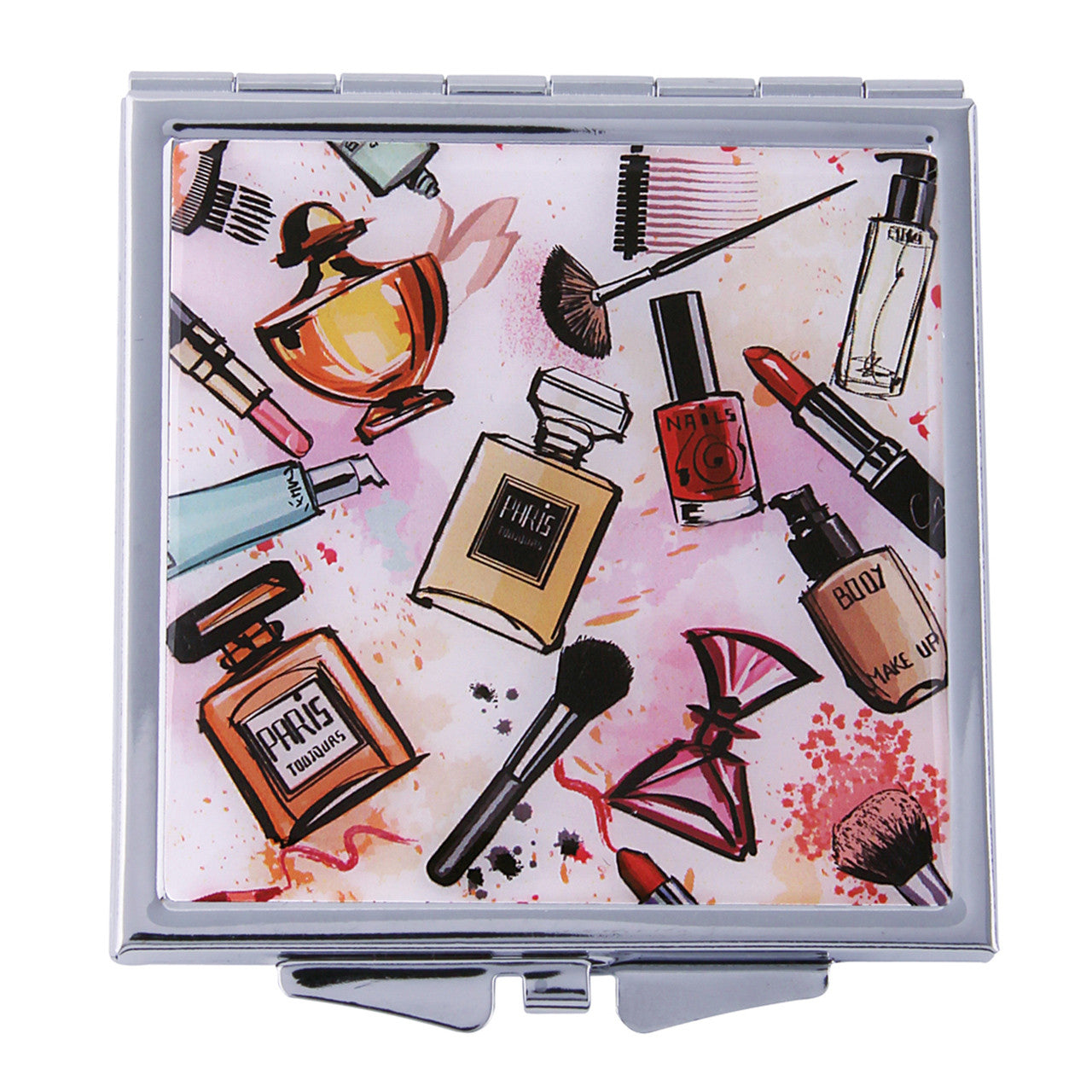 Fancy Metal Goods Makeup Accessories Compact
