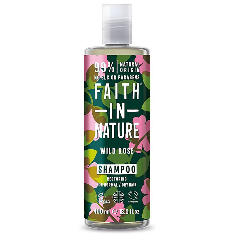 Faith in Nature Natural Wild Rose Shampoo 400 ml
