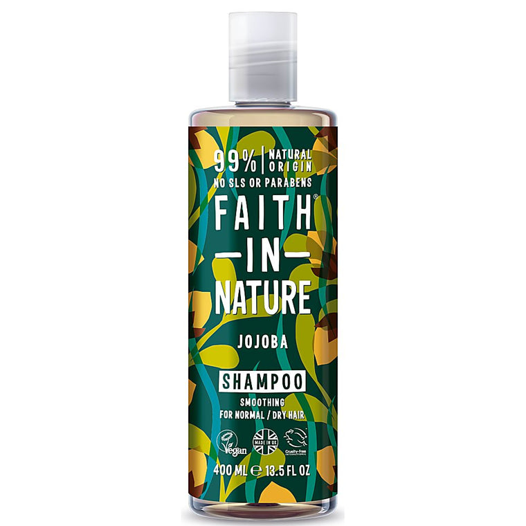 Faith in Nature Organic Jojoba Natural Shampoo 400ml