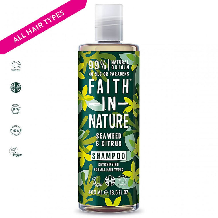 Faith in Nature Seaweed & Citrus Shampoo, 400ml