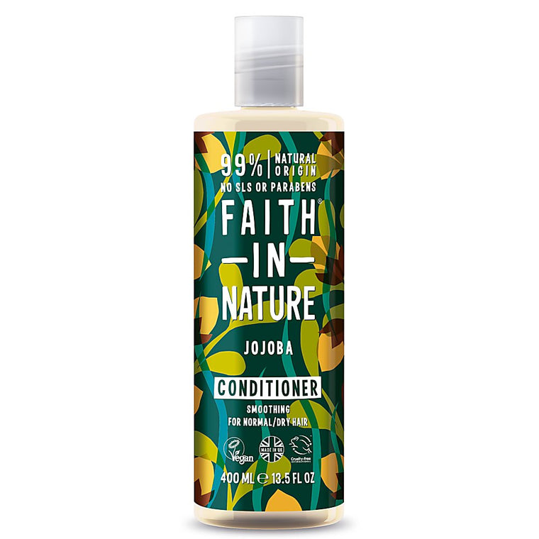 Faith in Nature Organic Jojoba Natural Conditioner 400ml