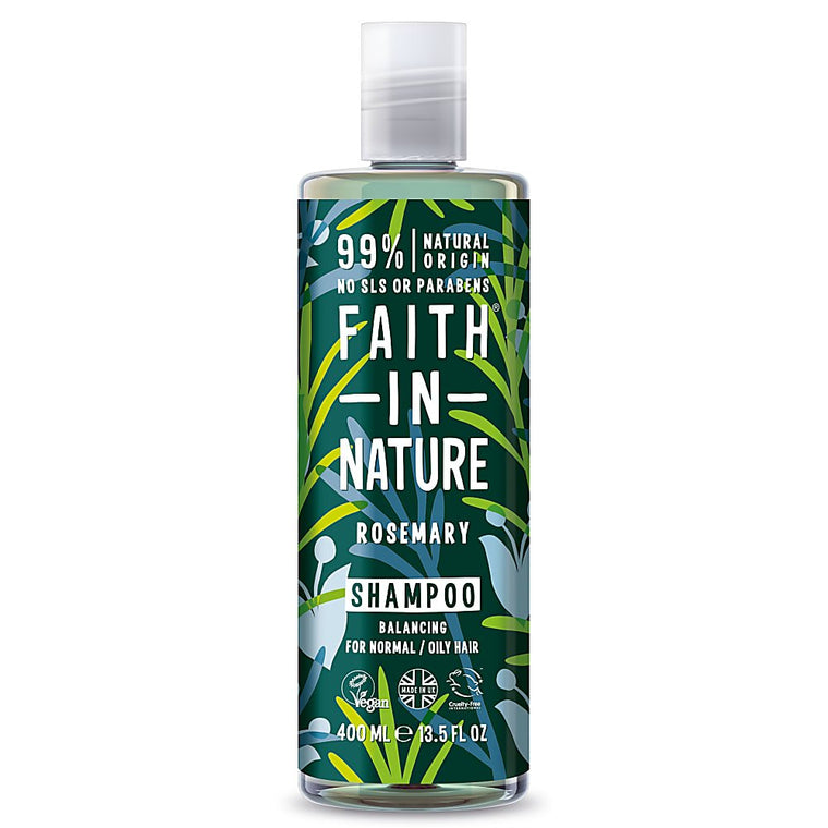Faith in Nature Rosemary Shampoo, 400ml