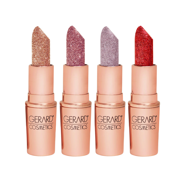 Gerard Cosmetics Glitter Lipsticks - 4 Play