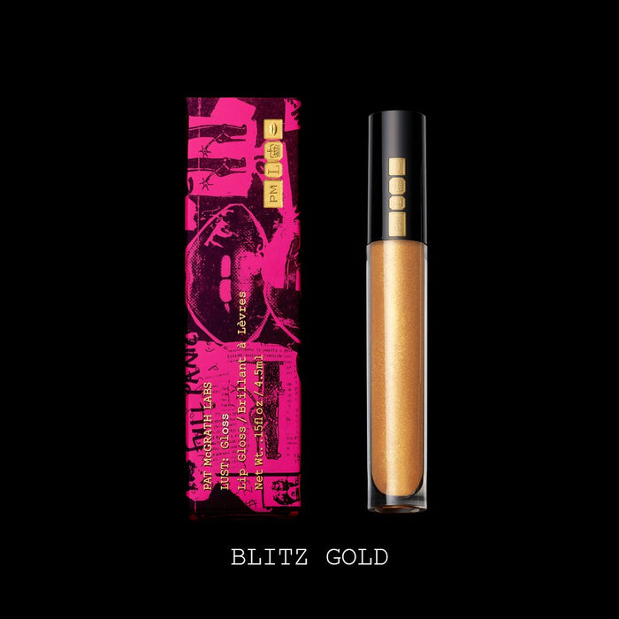 Pat McGrath Lust: Gloss Lip Gloss - Blitz Gold