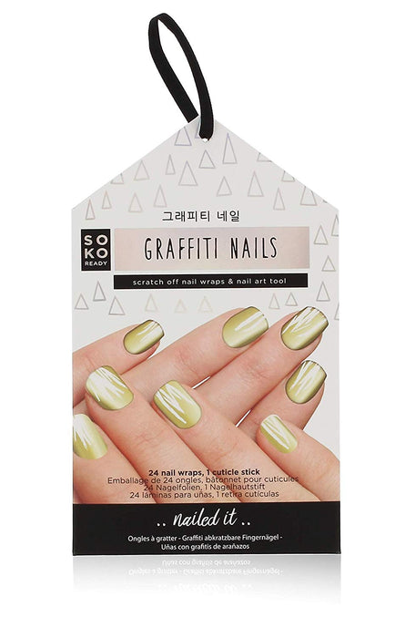SOKO Graffiti Nails - 24 Nail Wraps