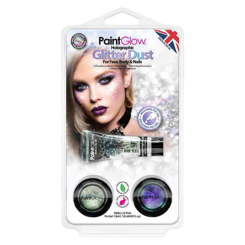 PaintGlow Holographic Glitter Dust (Pack 2)