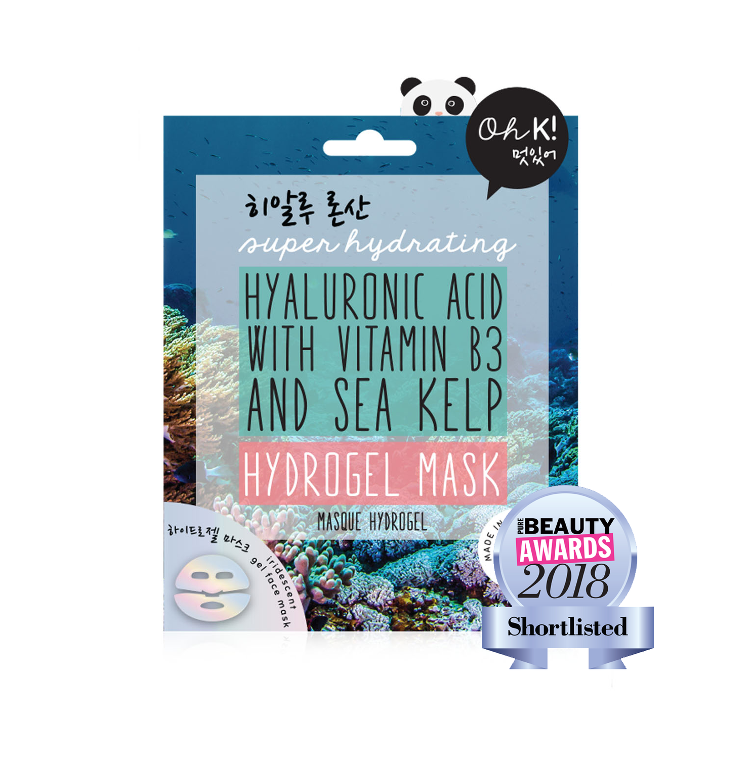 Oh K! Marine Hyaluronic Acid Mask