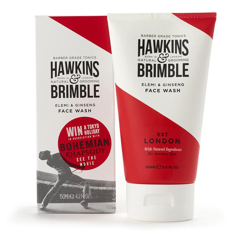 Hawkins and Brimble Face Wash, 150ml
