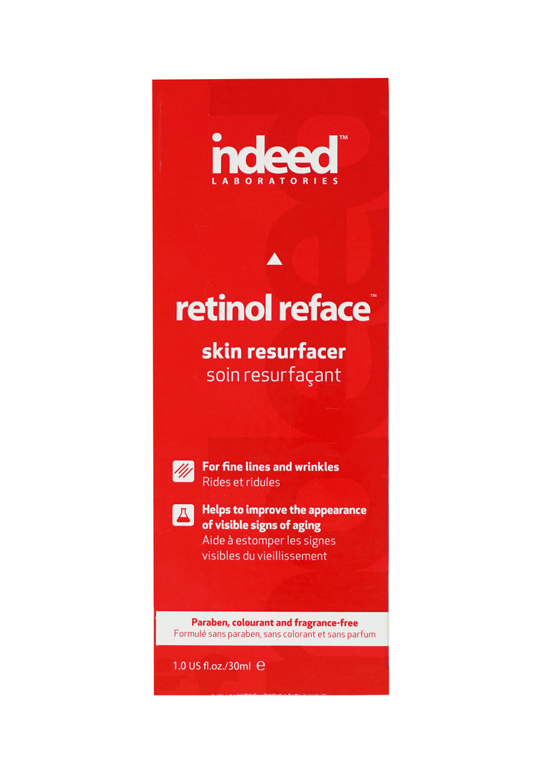 indeed Labs retinol reface™ Skin Resurfacer and Intensive Wrinkle Repair - 30ml