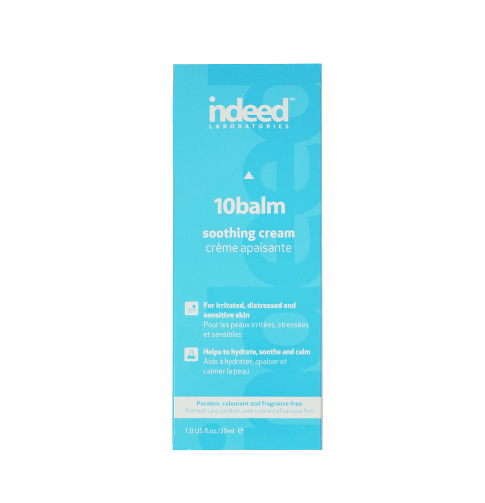 indeed Labs 10balm™ Soothing & Healing Cream for Sensitive Skin, 30ml