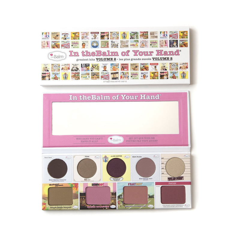 theBalm Cosmetics IN THE BALM OF YOUR HAND® Greatest Hits Volume 2 Palette