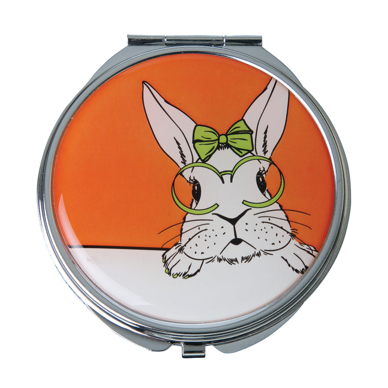 Fancy Metal Goods 'Cutie' Rabbit Mirror Compact Collection