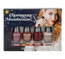 Morgan Taylor Champagne and Moonbeams Classic 4 Bottle Mini Pack
