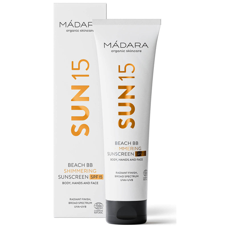 Madara Cosmetics SUN15 Beach BB Shimmering Sunscreen SPF15