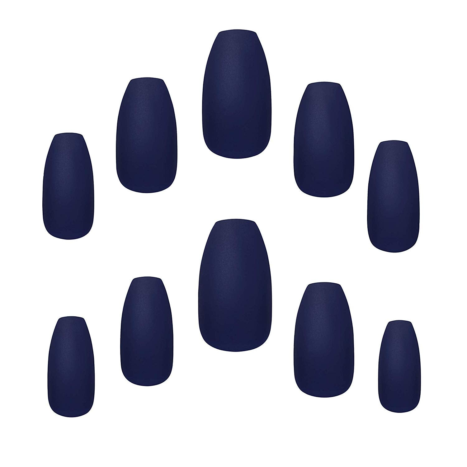 Christmas False Nails Uk: Elegant Touch Queen Of The Night False Nail