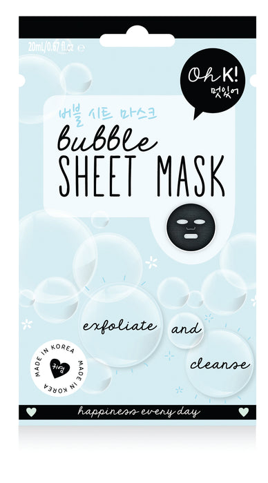 Oh K! Bubble Sheet Mask