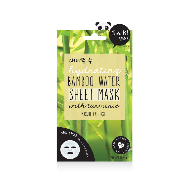 Oh K! Hydrating Bamboo Water Sheet Mask with Turmeric