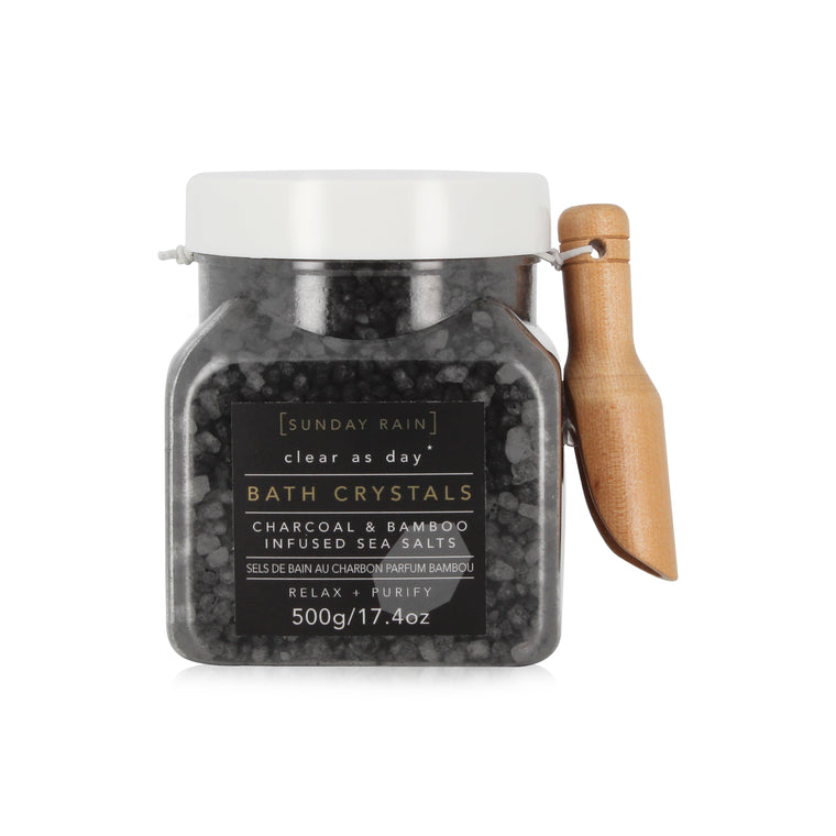 Sunday Rain Bath Crystals Charcoal, 500g