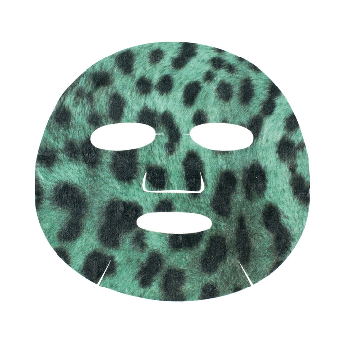 Oh K! SOS Skin Clarifying Leopard Sheet Mask, 23ml