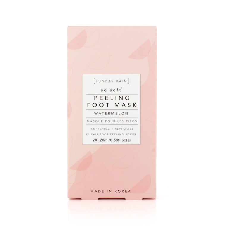 Sunday Rain Watermelon Peeling Foot Mask