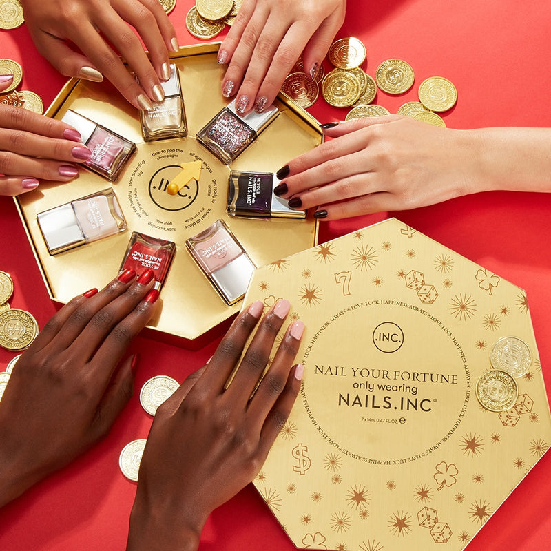Nails Inc. Nail Your Fortune Gift Set