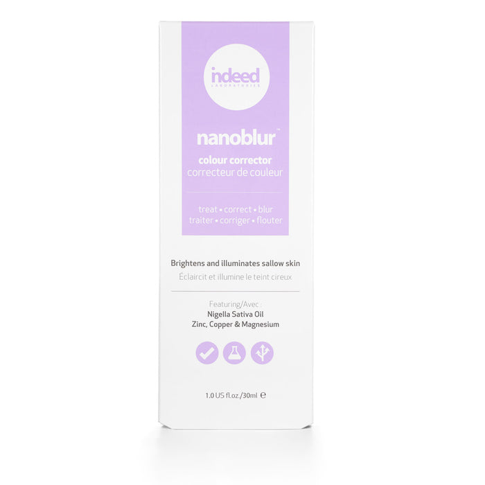 indeed Labs nanoblur™ colour corrector – purple 30ml