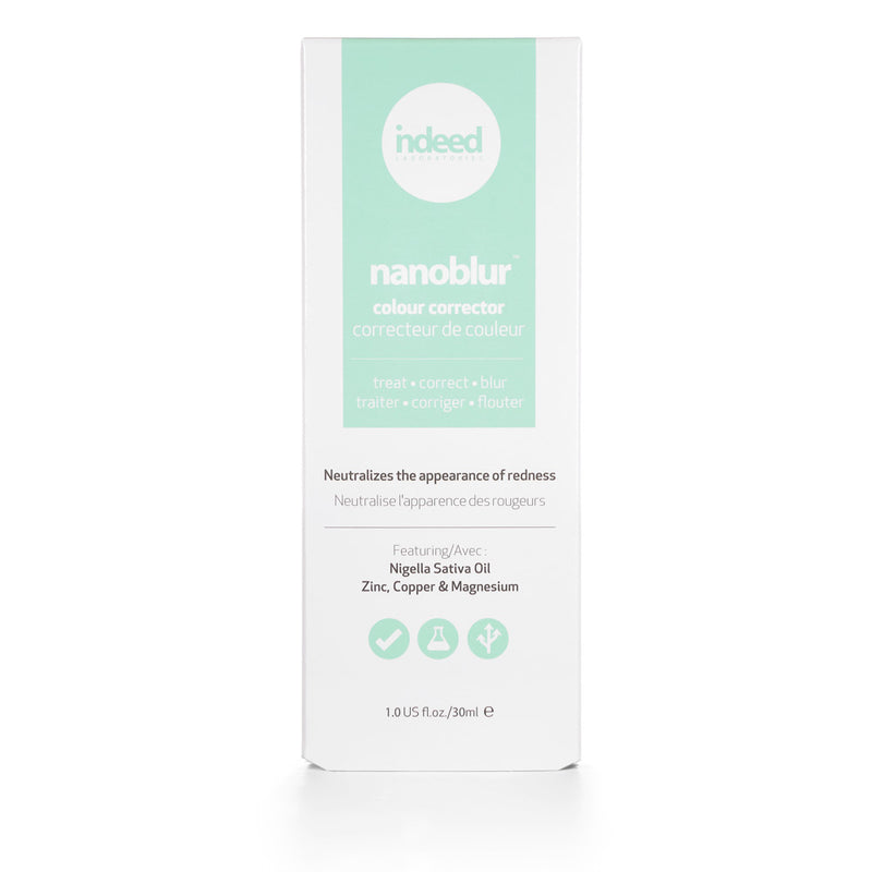 Indeed Labs nanoblur™ colour corrector – green Neutralizes the Appearance of Redness - 30ml