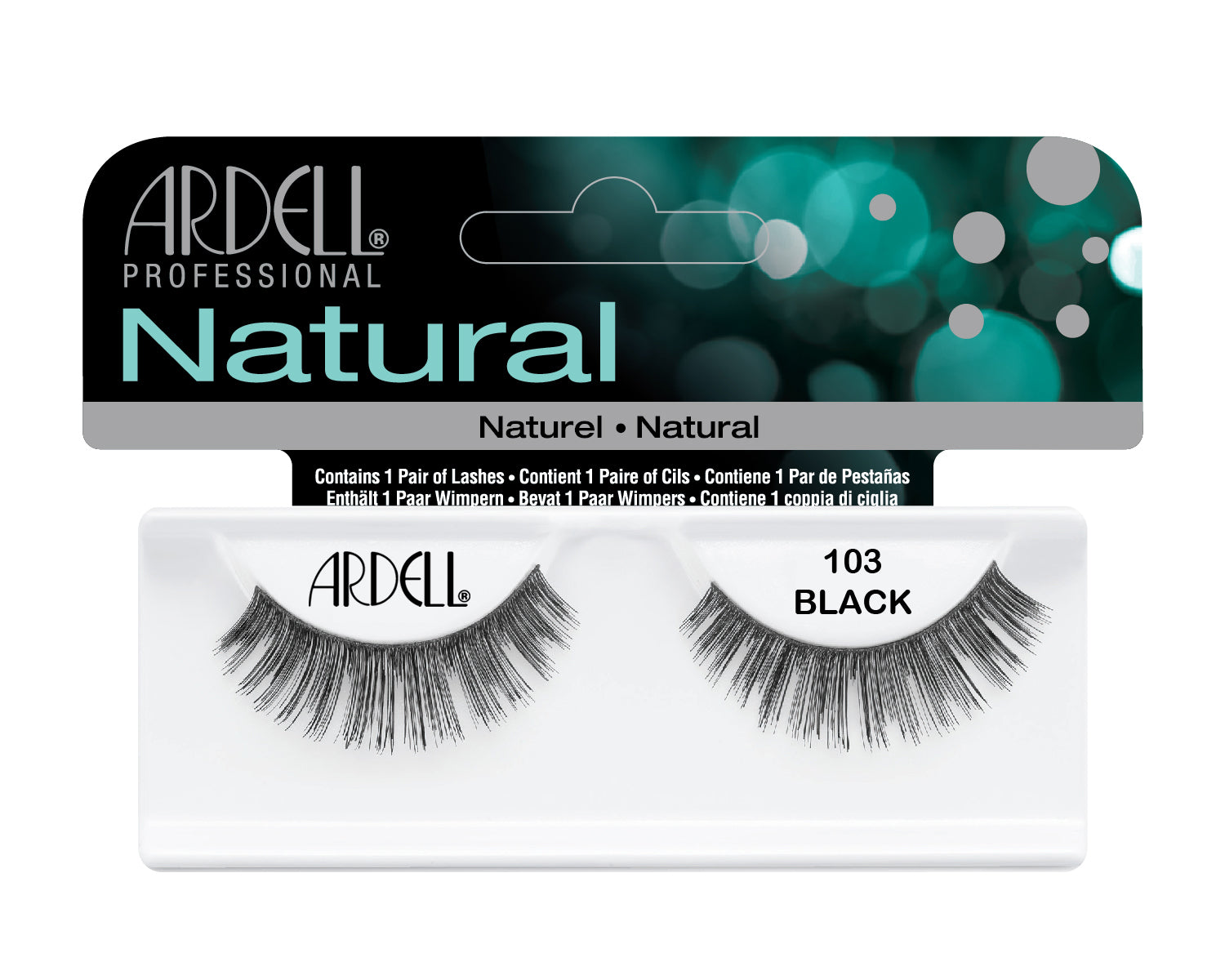 Ardell Natural 103 Black Lashes