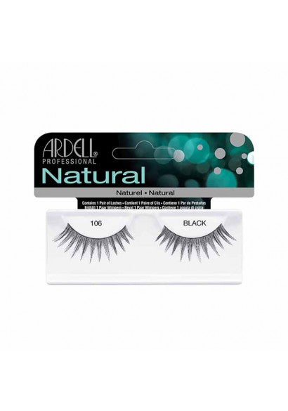 Ardell Natural 106 Black Lashes