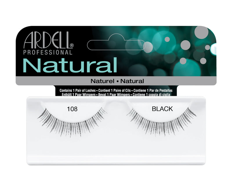 Ardell Natural 108 Black Lashes