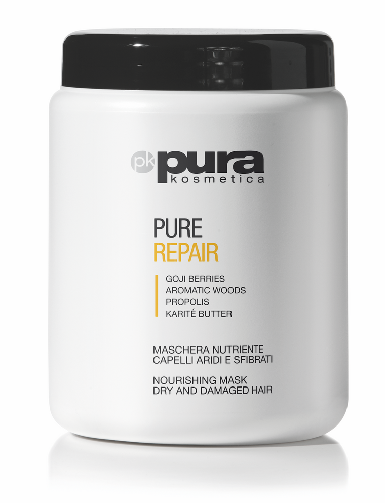 Pura Kosmetica Pure Repair Nourishing Mask for Dry and Damaged Hair 1000 ml