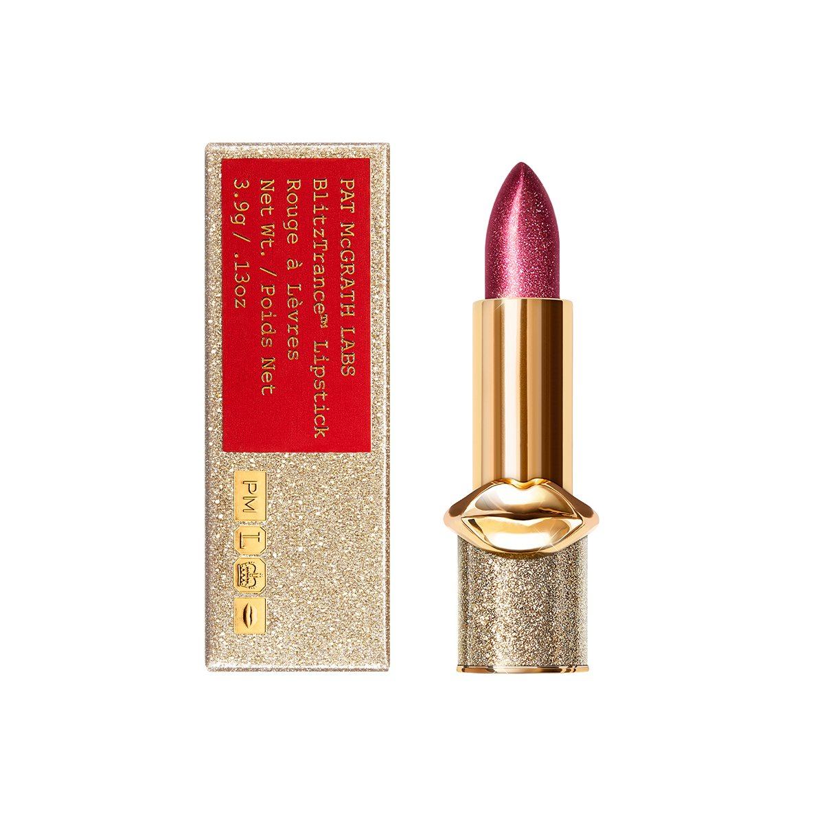 Pat McGrath BlitzTrance CLUB KISS (Magenta with Pink Pearl)