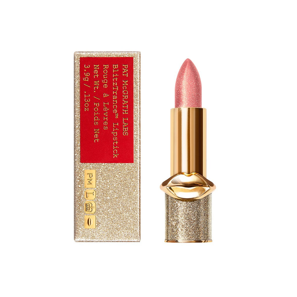 Pat McGrath BlitzTrance NUDE ROMANTIQUE Lipstick (Coral Rose with Golden Pink Pearl)