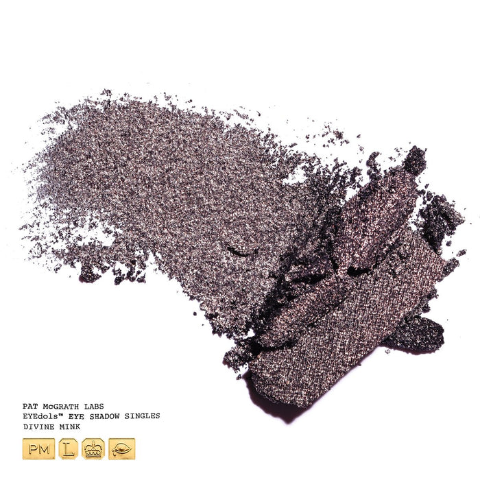 Pat McGrath EYEDOLS™ Metallic Eye Shadow - Divine Mink (Grey-Brown Sheen)