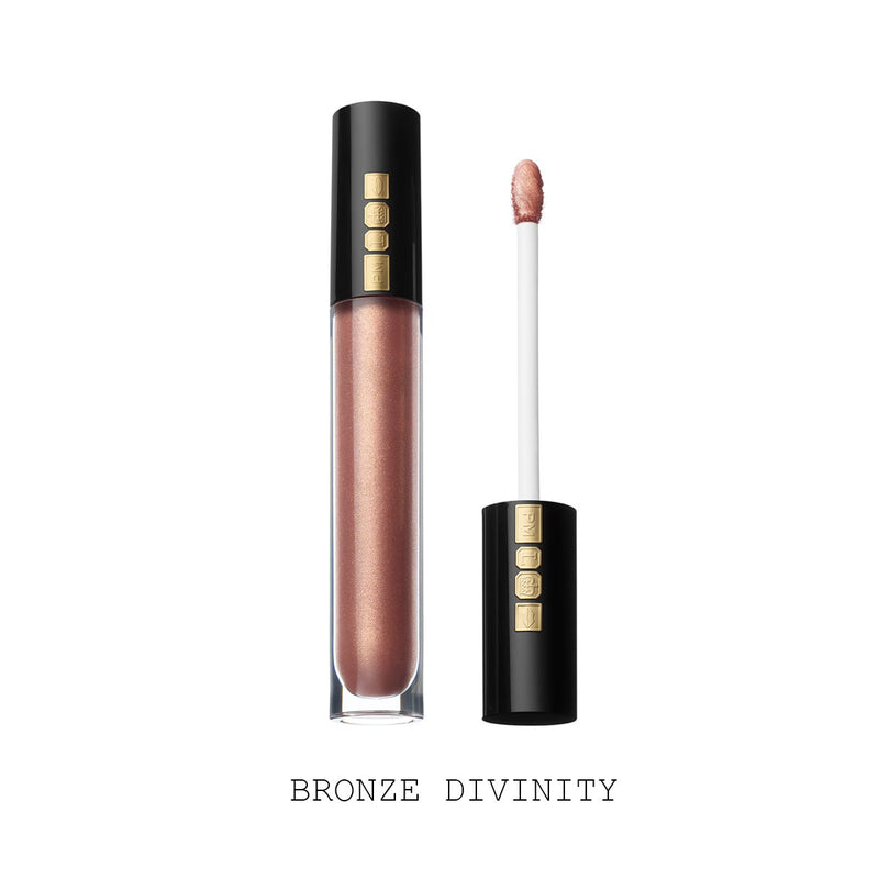 Pat McGrath Lust: Gloss Lip Gloss  - Bronze Divinity (Bronzed Rose with Gold and Pink Pearl)