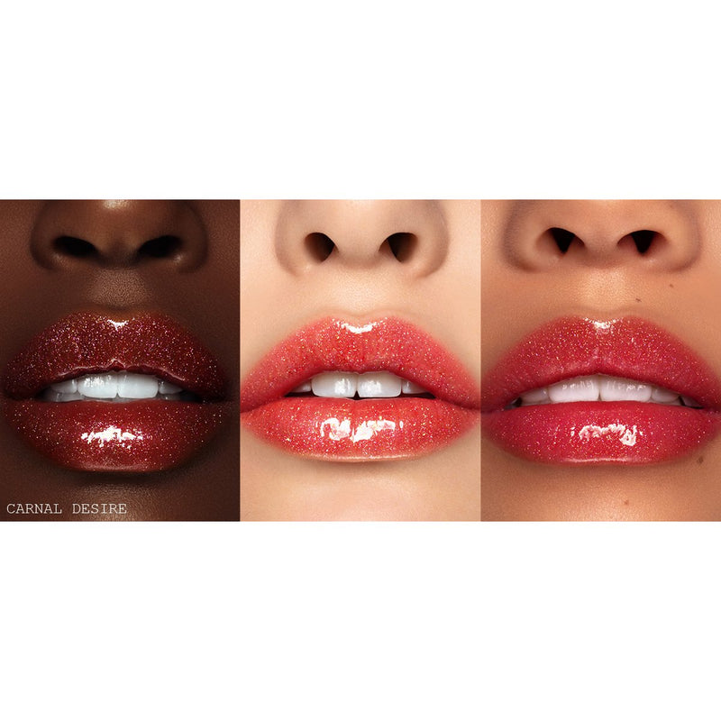 Pat McGrath Lust: Gloss Lip Gloss - Carnal Desire (Sheer Red with Sparkling Pink and Gold Pearl)