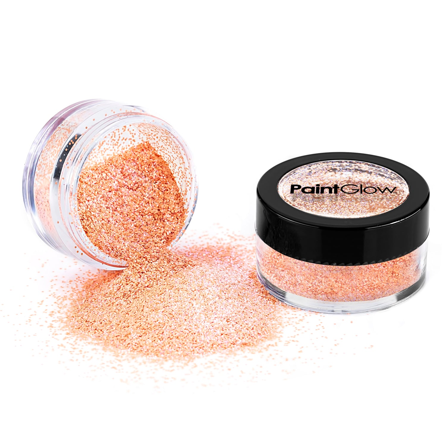 PaintGlow Candy Pastel Iridescent Glitter by PaintGlow – Vegan Cosmetic Glitter for Face, Body, Nails, Hair and Lip, iridescent glitter, festival glitter, hair glitter, nail glitter (Jelly Bean)