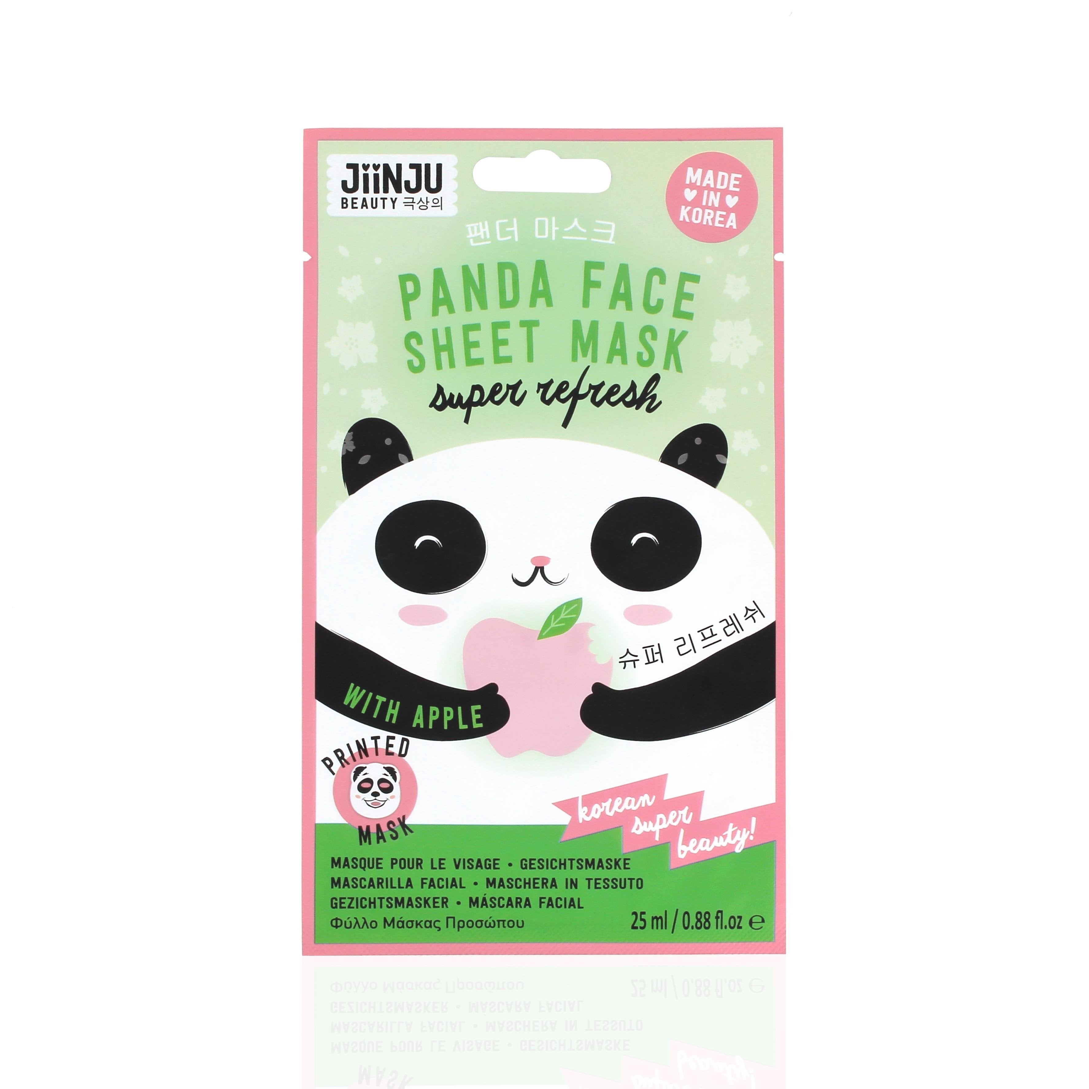 JiinJu Beauty Panda Face Sheet Mask, 25ml