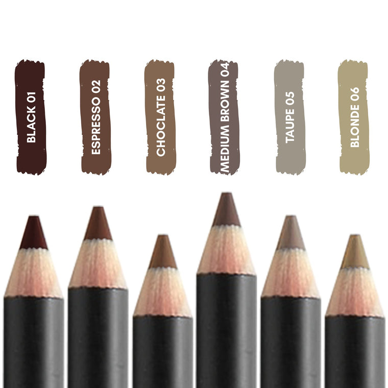 The BrowGal Skinny Eyebrow Pencils
