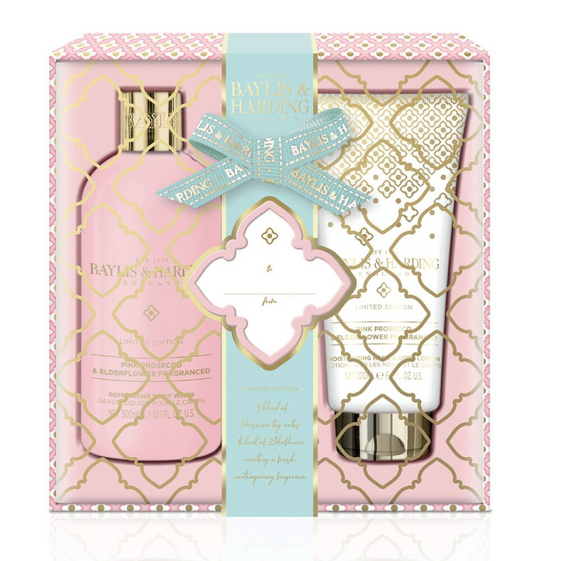 Baylis and Harding Pink Prosecco and Elderflower Duo